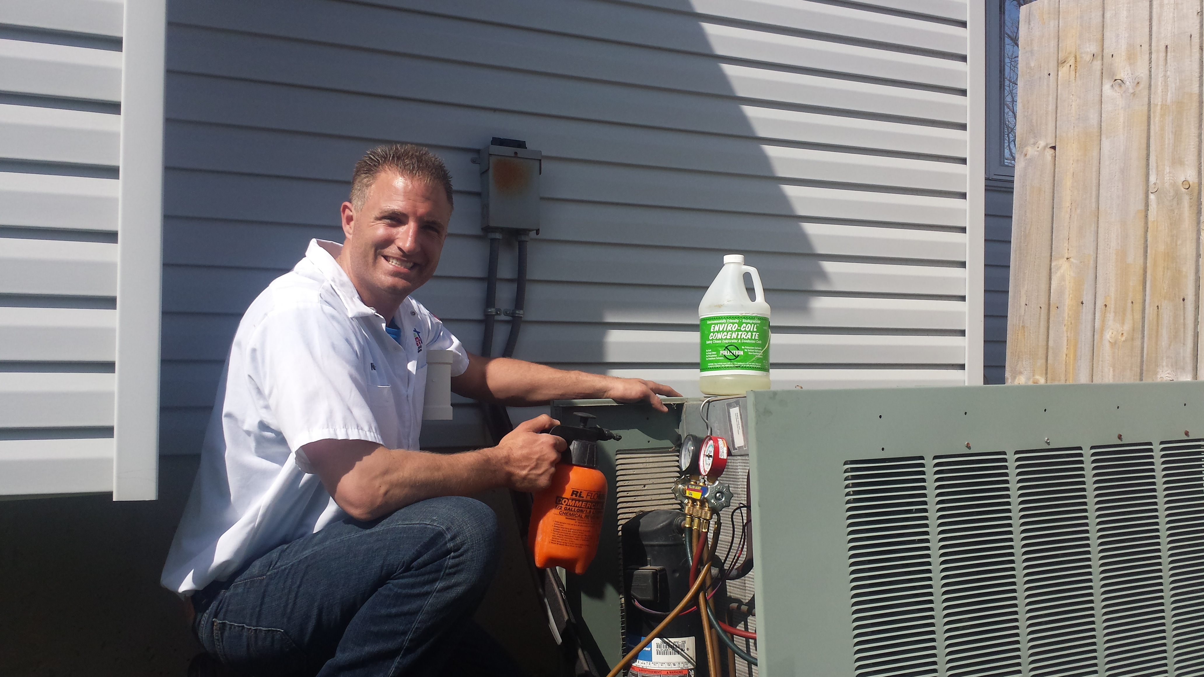how to become a heating and cooling technician